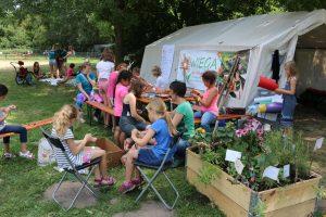 Das WIEGA- Gartenaktivzelt
